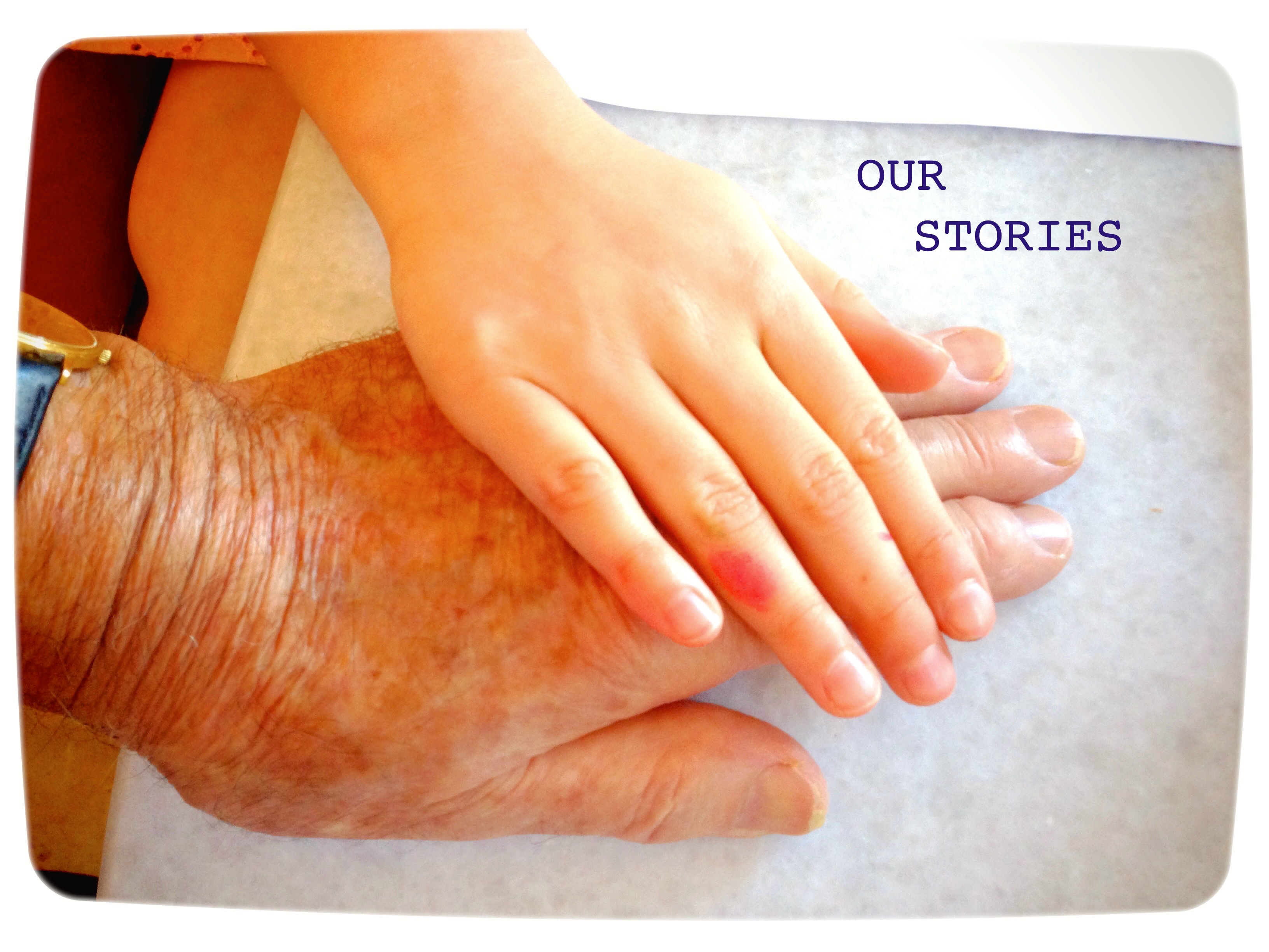 OUR STORIES LOGO (Hands)